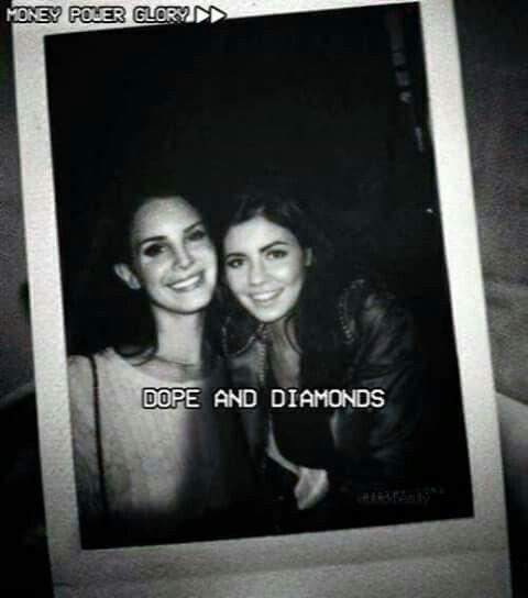 Lana and Marina - Dope and diamonds