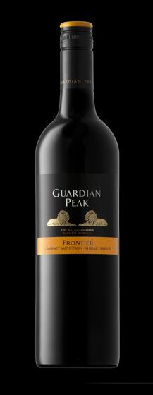 First taste of wine for the year. Thursday, 9 January 2014.  The Stellenbosch Wine Bar & Bistro, Windhoek, Namibia. Guardian Peak Frontier: Cabernet Sauvignon 45%, Shiraz 35%, Merlot 20% 2010 http://www.guardianpeak.com