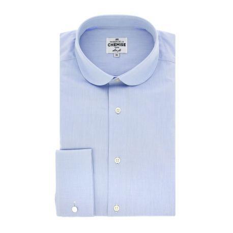 Best 20 col bleu ideas on pinterest blouse bleue - Chemise plastique transparente ...