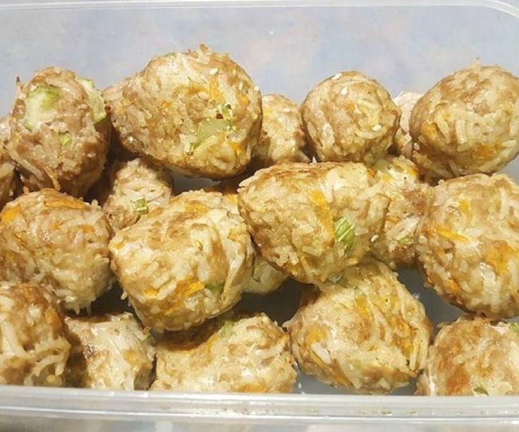 Asian Pork and Veggie Rice Balls1