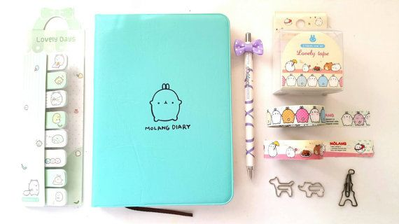 Check out this item in my Etsy shop https://www.etsy.com/listing/241978381/molang-diary-planner-kit