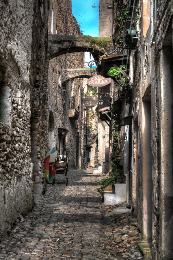 Bussana Vecchia by Marco Falcone, via 500px