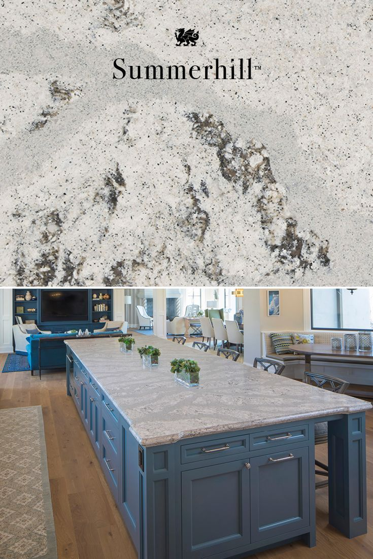 Blue Stone Countertop This Stunning Natural Stone Countertop Fits Well In Any Style