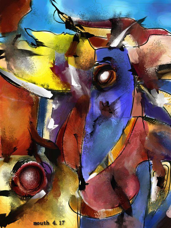Digital Art - Abstract art - 5400 x 7200 px - 4/17