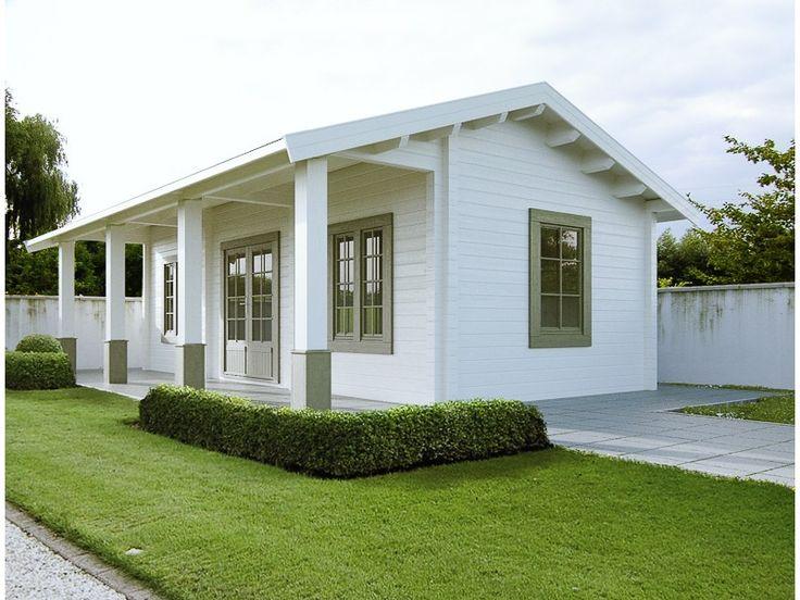 Blokhutten/Veranda's :: Weekendhuizen :: Blokhut Topcottage Mekong - Lek Tuinmaterialen. XXL tuinhuis, uitgevoerd met een dubbele 3/4 glasdeur voorzien van dubbelglas en paneelisolatie, 3 draai-kiepramen en 1 uitzetraam allen voorzien van dubbel glas en 3 binnendeuren. Binnen bevinden zich meerdere afgesloten ruimtes om te gebruiken als slaapkamer, keuken en badkamer.