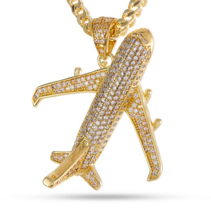 The Airplane Emoji Necklace