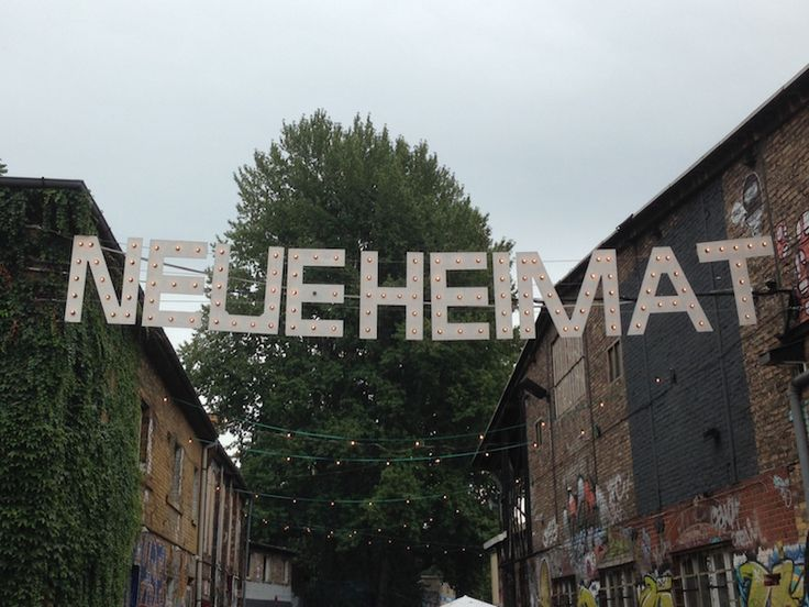 Neue Heimat is one of those hard to define super cool spaces. Located in a funky and edgy derelict area along Revaler ...