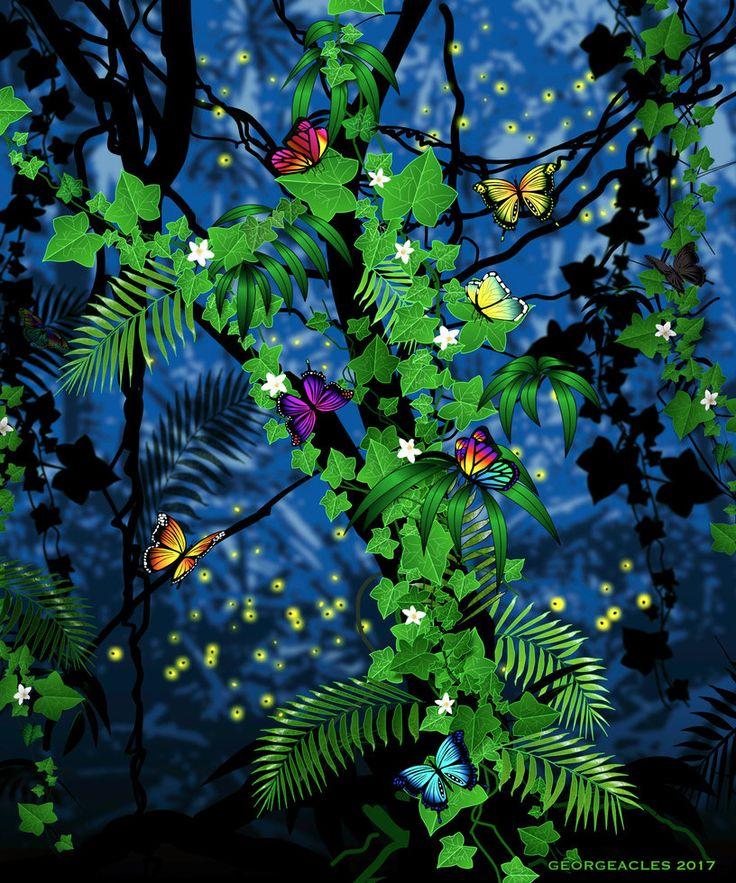 Butterflies by Georgeacles.deviantart.com on @DeviantArt