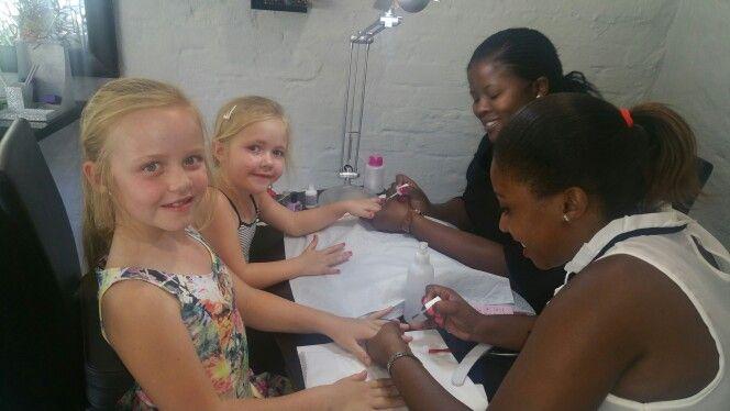 Kiddies pamper partys @ Hair Art & Beauty Solutions ..012-9915568