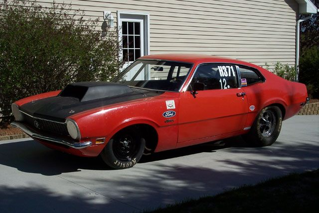 1970 Ford Maverick Nhra Pro Stock Drag Car Ford Maverick Drag Cars Ford Racing