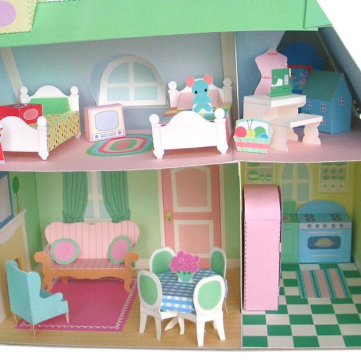 Printable 1 Patterns 48 Furniture Dollhouse