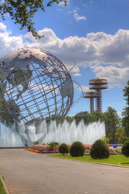 Unisphere at Corona Park, Flushing, Queens, New York