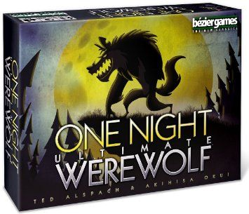 Bezier Games One Night Ultimate Werewolf Board Game