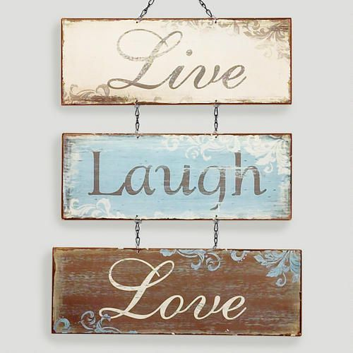 Love Decor Signs: Top 25 Ideas About Live Laugh Love On Pinterest