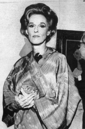 Barbara Cushing Paley, wife of CBS Inc. board chairman William S. Paley, 1971