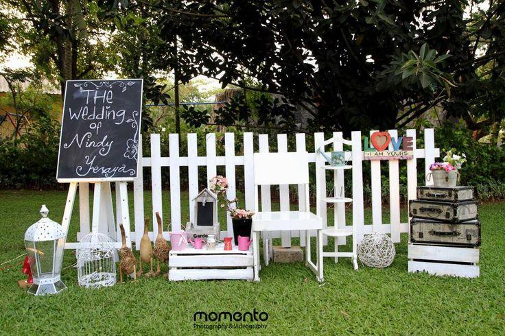 Pernikahan Nindy dan Yesaya di Raffles Hills Cibubur