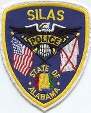 SILAS ALABAMA POLICE PATCH