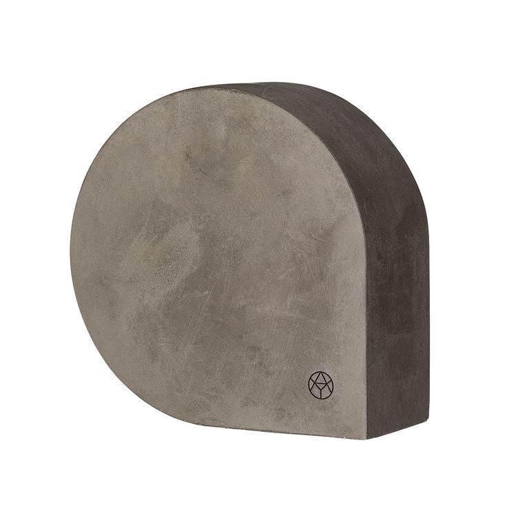 Moles Bokstøtte Small, Cement - AYTM - AYTM - RoyalDesign.no