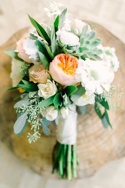 Succulents and pretty flowers: http://www.stylemepretty.com/2015/01/23/texas-outdoor-wedding-with-shades-of-blush/ | Photography: Mint - http://mymintphotography.com/