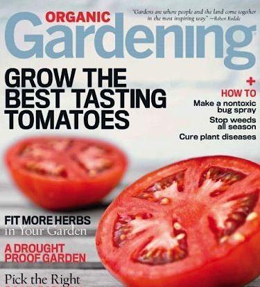 Organic Gardening Magazine: as low as 4.13/yr! ~ at TheFrugalGirls.com #organic #gardening