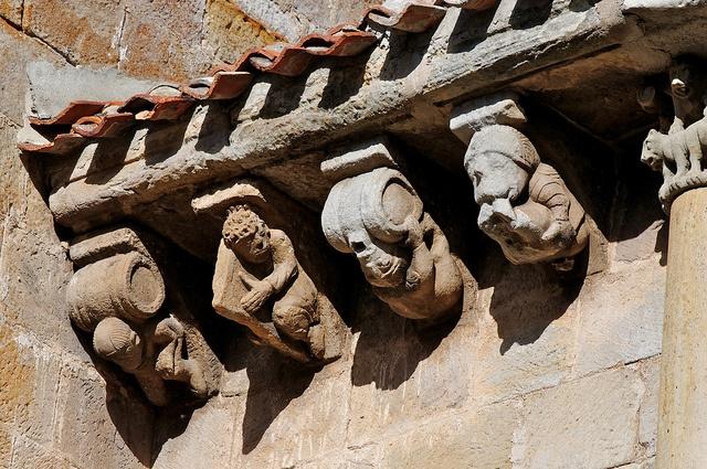Colegiata de San Pedro de Cervatos. Campoo de Enmedio   Cantabria   Spain