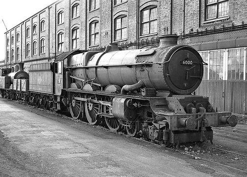 BR (GWR)  King class  4-6-0  No 6000 'King George V'