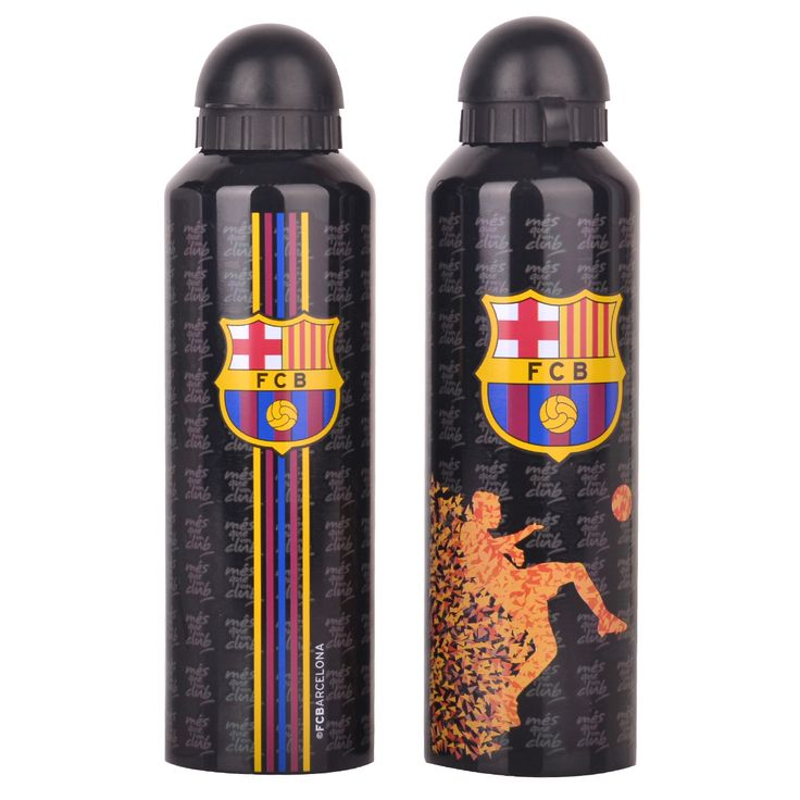 F.C. Barcelona Stainless Steel Drinks Bottle BLK ST- Rs. 899 Official #Football #Merchandise from #LaLiga