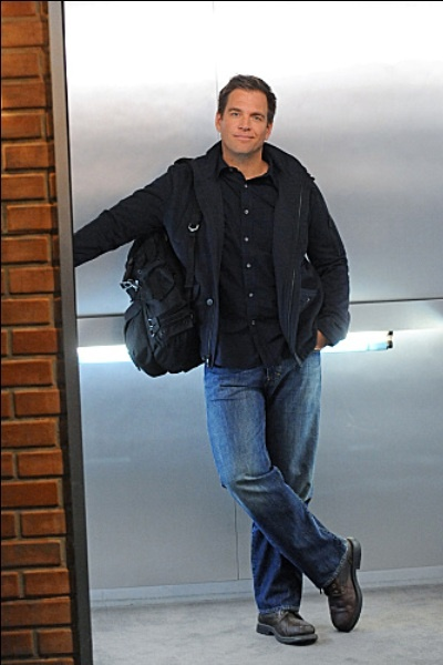 For the role of Mark Sanders, Coop's wise-cracking partner, I chose Michael Weatherly (NCIS).  In reading Irene's books, I always imagine Mark as Michael.  An absolutely perfect fit.  This elevator shot is one of my favorites.