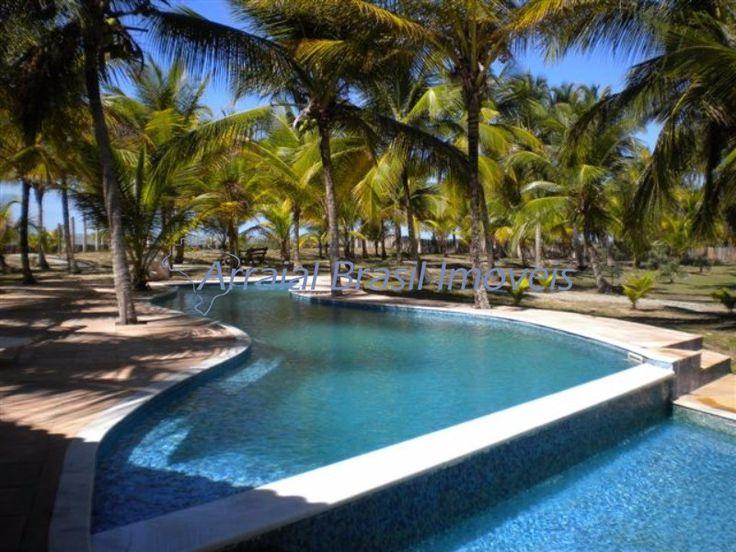 TERRENO EM SANTA CRUZ CABRÁLIA - SANTO ANDRE - PRAIA DO GUAIÚ Em condomínio de alto padrão de frente para praia, com piscina, sauna, área gourmet.