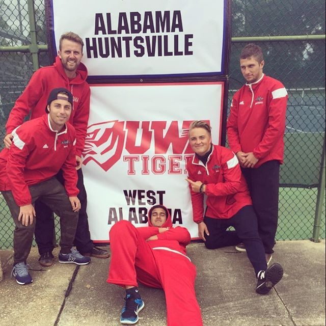 Thanks guys for an unreal first season of college tennis!  #uwatigers #BALlers #buffranch
