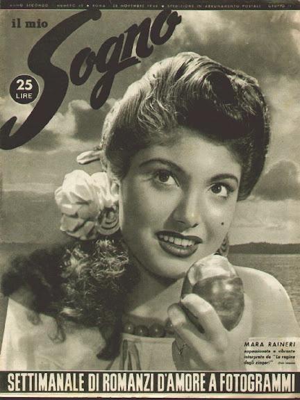 Italian Cover Vintage Magazine