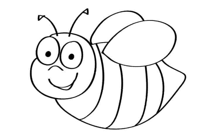 Free Printable Bee Coloring Pages Bee Coloring Pages Bee Printables Zebra Coloring Pages