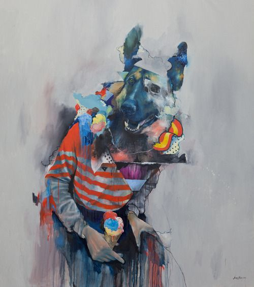 supersonicelectronic:      Joram Roukes.  Fascinating paintings by Joram Roukes.  Read More