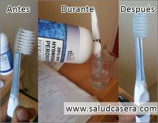 No compres un cepillo dental nuevo cada 3 meses. Solo sigue este método. Extra : Enjuague Bucal 100% Natural sin químicos.