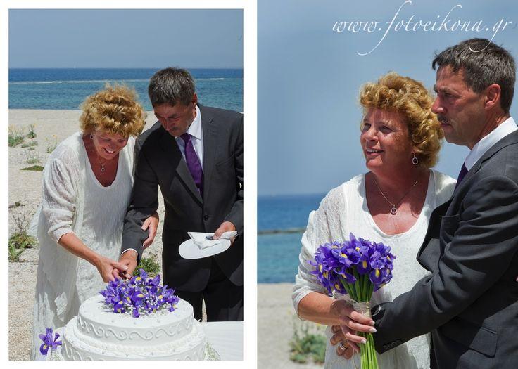 Love never gets old. Wedding photography on a beautiful beach #Lefkas #Ionian #Greece #wedding #weddingdestination Eikona Lefkada Stavraka Kritikos