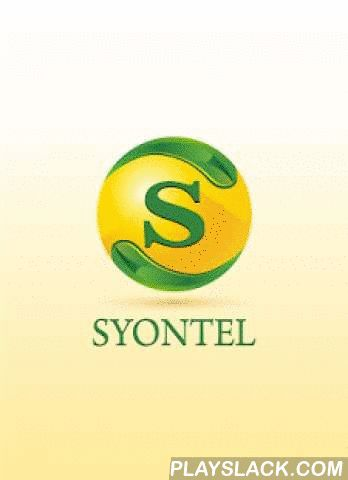 SYONTEL  Android App - playslack.com ,  With its simple and intuitive user interface, SYONTELis the solution to making high quality calls for a fraction of the cost. Utilizing the latest the latest advances in VOIP technology, you can be ensured that all your communications are secure and affordable.• SYONTELis a SIP-based soft phone. You can call your friends and family from SYONTELwith lowest international call rates! And very good quality. Features• SIP-based softphone with exceptional…