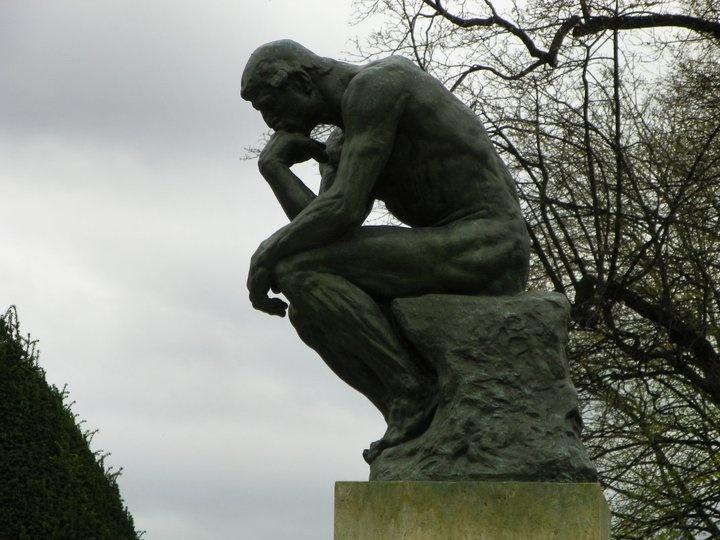 Thinker - Rodin Museum in Paris