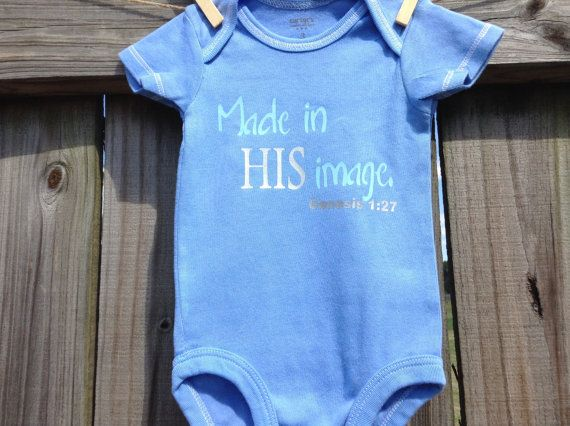 SALE Made in HIS imageChristian bodysuit/shirt by beautifulhonor, $11.00