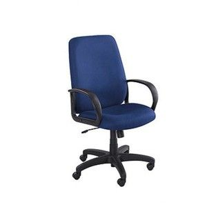 Poise High-Back Seat Fabric: Blue