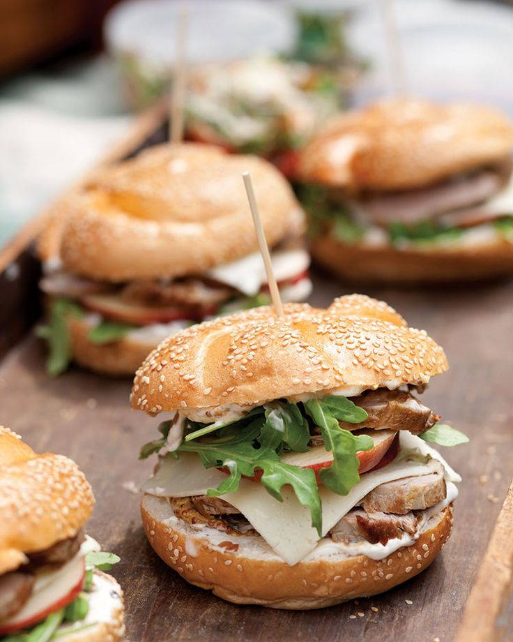 Pork Tenderloin Sandwiches with Caramelized-Onion Mayonnaise - Southern Lady Magazine