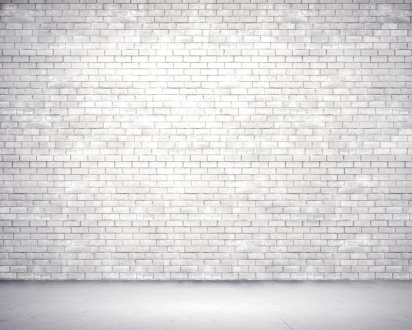 Peel U0026 Stick Wall Murals, Turn This Image Of White Bricks Into Custom  Wallpaper And Give Urban Edge To Your Space.