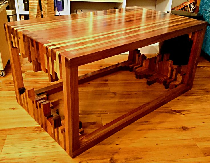 fancy coffee table woodworking projects