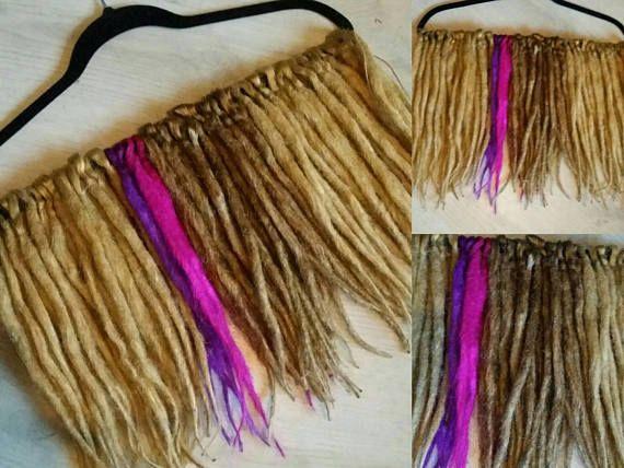 Bekijk dit items in mijn Etsy shop https://www.etsy.com/nl/listing/576735598/preworn-44de-blond-synthetic-dreadlockz