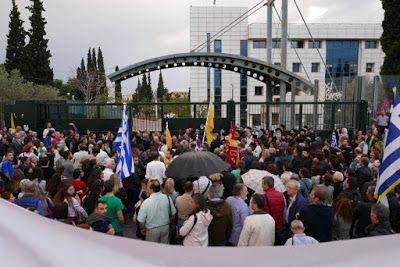 ΕΛΛΗΝΙΚΗ ΔΡΑΣΗ: Μεγαλειώδης διαδήλωση χιλιάδων ατόμων κατά των βιβ...