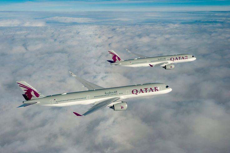 Primul Airbus A350-1000 Qatar Airways la primul zbor