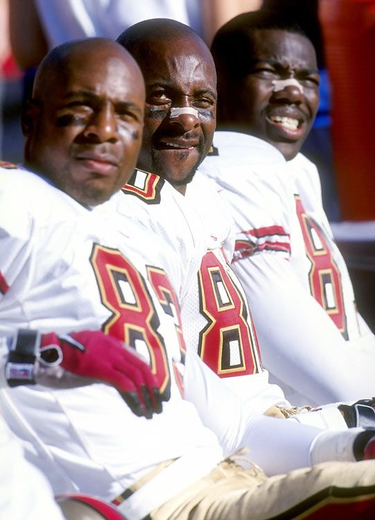 an introduction to the lives of jerry rice and terrell owens Future hall of famer jerry rice had been injured and owens had stepped in whatever has happened to terrell owens why is terrell owens such a jerk.