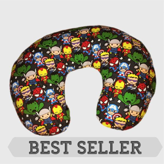 Hey, I found this really awesome Etsy listing at https://www.etsy.com/listing/272427642/boppy-pillow-cover-superhero-nursery