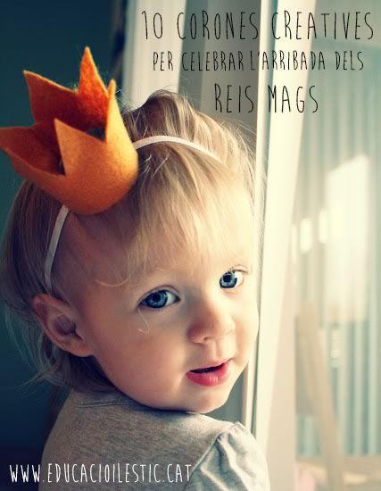 10 corones creatives per celebrar l'arribada dels Reis Mags