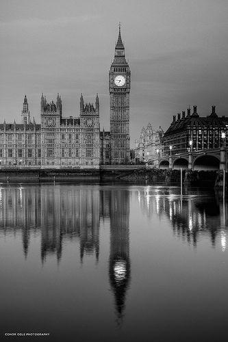 Big Ben Clock Tower - London, England