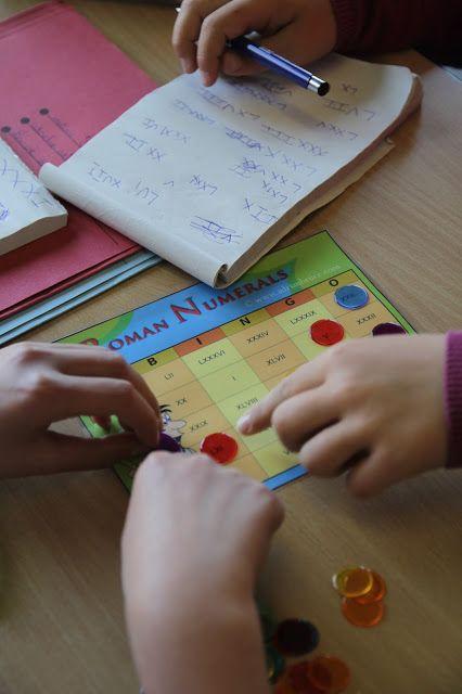 Bingo met romeinse cijfers